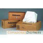 Bolsas para residuos de destructoras Fellowes, 121-143 litros