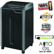 Destructora Fellowes 425Ci, corte en partículas